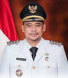 Bobby Nasution Indonesian businessman and politician