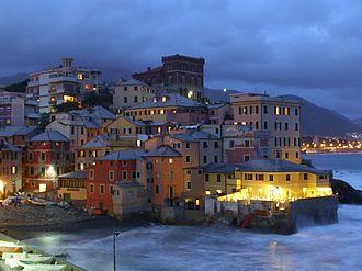 Albaro - Night view of Boccadasse
