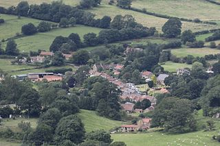 Boltby village in the United Kingdom