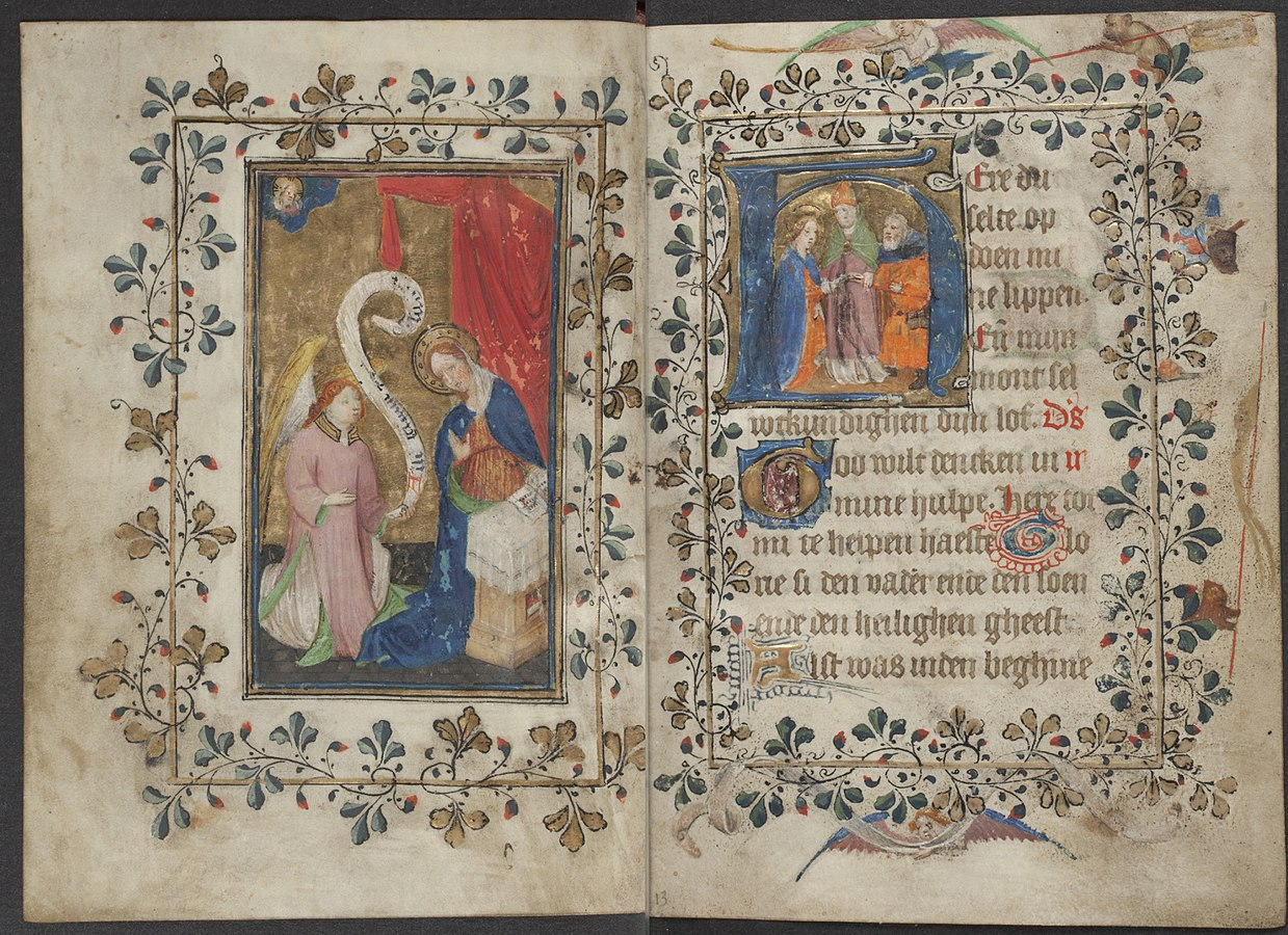 Book of hours by the Master of Zweder van Culemborg