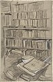 "Bookshelves, Study for ""Edmond Duranty"" MET DP810340.jpg"