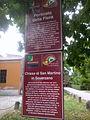 Borgo del castello tourist signs (2) (San Martino in Soverzano, Minerbio).jpg
