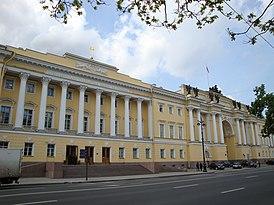 Boris Yeltsin Presidential Library main entrance.JPG