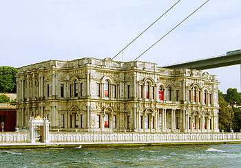 Beylerbeyi Palace from the Bosphorus