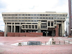Image illustrative de l'article Hôtel de ville de Boston