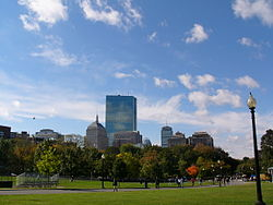 Veduta di Boston