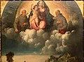 Bottega di dosso e battista dossi, apparizione della madonna col bambino tra i ss. francesco e bernardino ai confratelli della neve, 1530-40 ca. 02.jpg