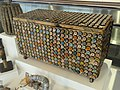 Bottle cap chest - Museum of International Folk Art - DSC09186.JPG