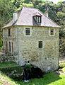 Boussac (Creuse) - Moulin sur la rivière Beroux.JPG
