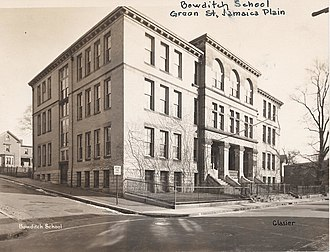 Bowditch School - Image: Bowditch School 403002017 City of Boston Archives