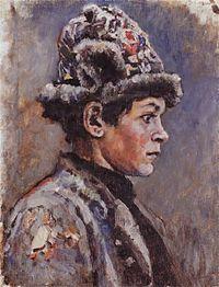 Boyaryna Morozova by V.Surikov - sketch 13.jpg