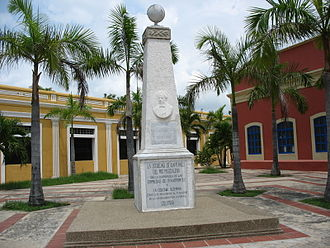 Barranquilla - Obelisk in honor of Juan B. Elbers.