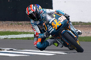 Bradley Smith (motorcyclist) - Smith at the 2009 British Grand Prix.