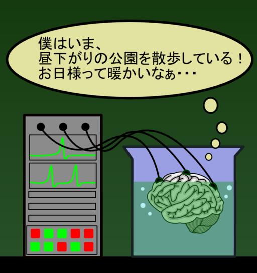 Brain in a vat (ja)