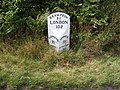 Brampton Milepost on the A145 - geograph.org.uk - 1438037.jpg