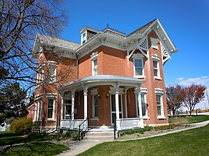 National Register of Historic Places listings in Keith County, Nebraska - Image: Brandhoefer Mansion