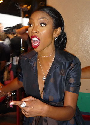 Singer Brandy Norwood in September 16, 2010.