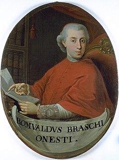 Romoaldo Braschi-Onesti Catholic cardinal