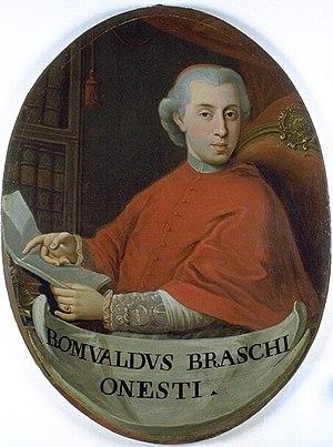 Pope Pius VI - Pius VI elevated Romualdo Braschi-Onesti as the penultimate cardinal-nephew.