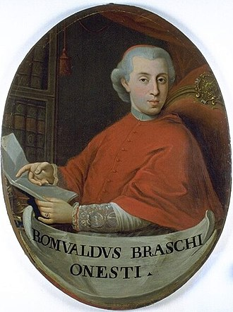 Pope Pius VI - Pius VI elevated Romualdo Braschi-Onesti as the penultimate cardinal-nephew.