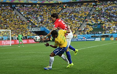 Brazil and Croatia match at the FIFA World Cup 2014-06-12 (01).jpg