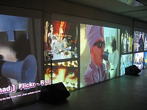 Marc Lee - Breaking The News, 2007, Dock 18, Zürich, Switzerland