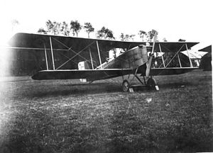 Breguet 14 - Breguet 14 at the Air Service, United States Army Air Service Production Center No. 2, Romorantin Aerodrome, France, 1918