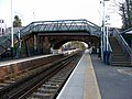 Bridge, Ewell West Station, Surrey - geograph.org.uk - 1778314.jpg