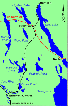 Bridgton And Saco River Railroad Wikipedia