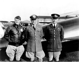 Henry Conger Pratt - Pratt (at right), with Generals Benjamin D. Foulois, Assistant Chief of Air Corps, and James E. Fechet, Chief of Air Corps, in 1931.