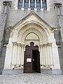 Brignais - Église Saint-Clair (portail).jpg