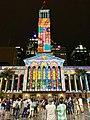 Brisbane City Hall light projection show 2018, 10.jpg