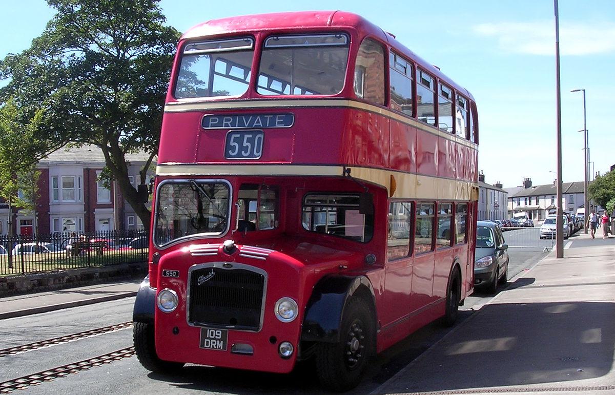 Lowbridge Double Deck Bus Wikipedia