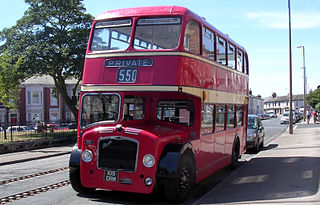 low-height double-decker bus