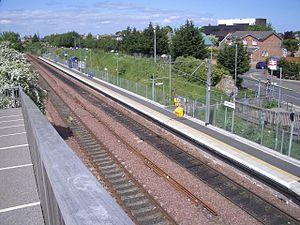 300px Brunstane railway station in 2008