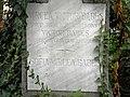 Bucuresti, Romania, Cimitirul Bellu Catolic, Mormantul lui Mircea Babes (unicul fiu al ilustrului savant Victor Babes); (detaliu 2); B-IV-a-B-20118.JPG