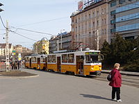 Budapest yellow tatra tram.jpg