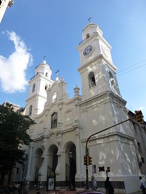 Saint Ignatius Church (Buenos Aires) - Image: Buenos Aires Monserrat Iglesia de San Ignacio