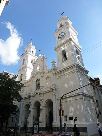 St. Ignatius Church (Buenos Aires) - Image: Buenos Aires Monserrat Iglesia de San Ignacio