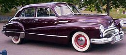 Una Buick Super berlina del 1947
