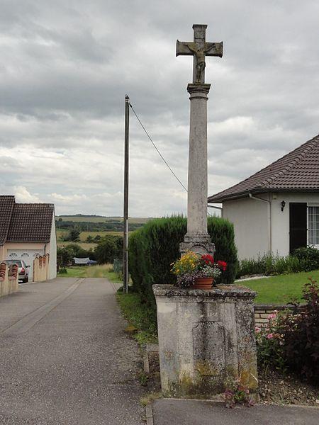 Buissoncourt (M-et-M) croix de chemin