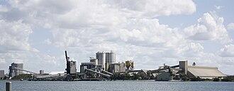 Bulwer Island - Bulwer Island from Fort Lytton