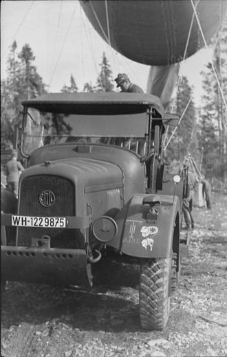 Latil - Latil truck used by the German Wehrmacht in 1941.