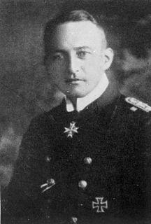 Walther Schwieger German World War I U-boat commander