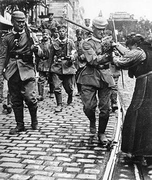 History of Germany during World War I - World War I mobilization, 1 August 1914