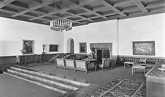 "Berghof (residence) - The ""Great Hall"""