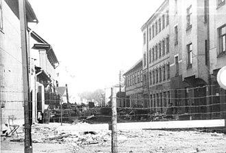 Riga Ghetto - Riga ghetto in 1942