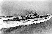 """Bundesarchiv Bild 183-S54286, Italien, Schlachtschiff """"Littorio"""""""
