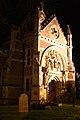 Bungay, St Edmund's Roman Catholic church at night - geograph.org.uk - 2720064.jpg