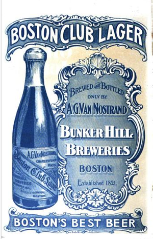 Bunker Hill Breweries - Image: Bunker Hill Breweries Ad